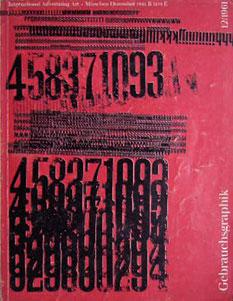 Gebrauchsgraphik International Advertising Art Munchen Dezember 1961
