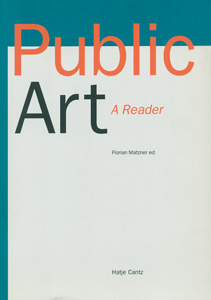 Public Art A Reader