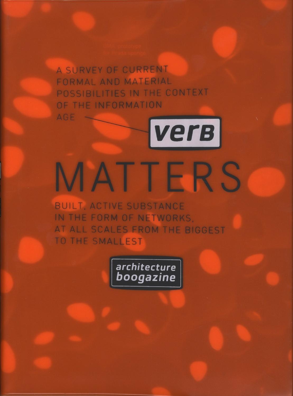 Verb Matters architecture boogazine