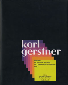 Karl Gerstner: Review of Seven Chapters of Constructive Pictures etc.