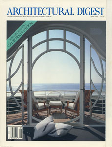 AD ARCHITECTURAL DIGEST THE INTERNATIONAL MAGAZINE OF FINE INTERIOR DESIGN/MAY 1991