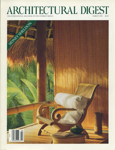 AD ARCHITECTURAL DIGEST THE INTERNATIONAL MAGAZINE OF FINE INTERIOR DESIGN/MARCH 1994