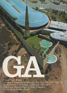 GA グローバル・アーキテクチュア No.36|フランク・ロイド・ライト グッゲンハイム美術館 1943-59/マリン郡庁舎 1957-70
