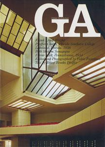 GA グローバル・アーキテクチュア No.40|フランク・ロイド・ライト ファイファー・チャペル(フロリダ・サザン・カレッジ)1938/ベス・ショロム・シナゴーグ 1954
