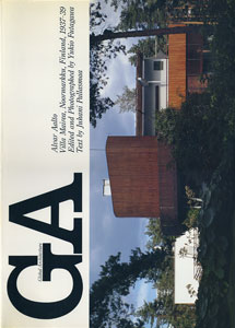 GA グローバル・アーキテクチュア No.67|アルヴァ・アアルト マイレア邸 1937-39[image1]