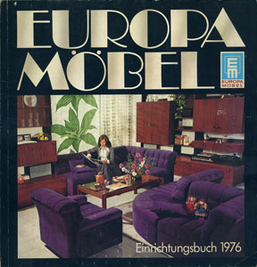 EUROPA MOBEL Einrichtungsbuch 1976
