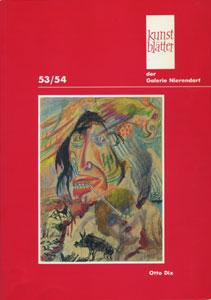 Kunstblatter der Galerie Nierendorf Nummer 53/54