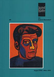 Kunstblatter der Galerie Nierendorf Nummer 60/August 1996 - Marz 1997