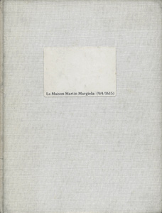 La Maison Martin Margiela: (9/4/1615)