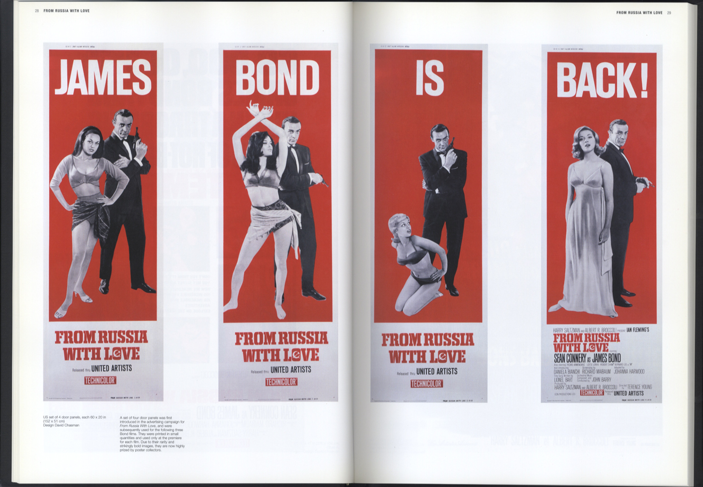 JAMES BOND MOVIE POSTERS THE OFFICIAL 007 COLLECTION[image3]