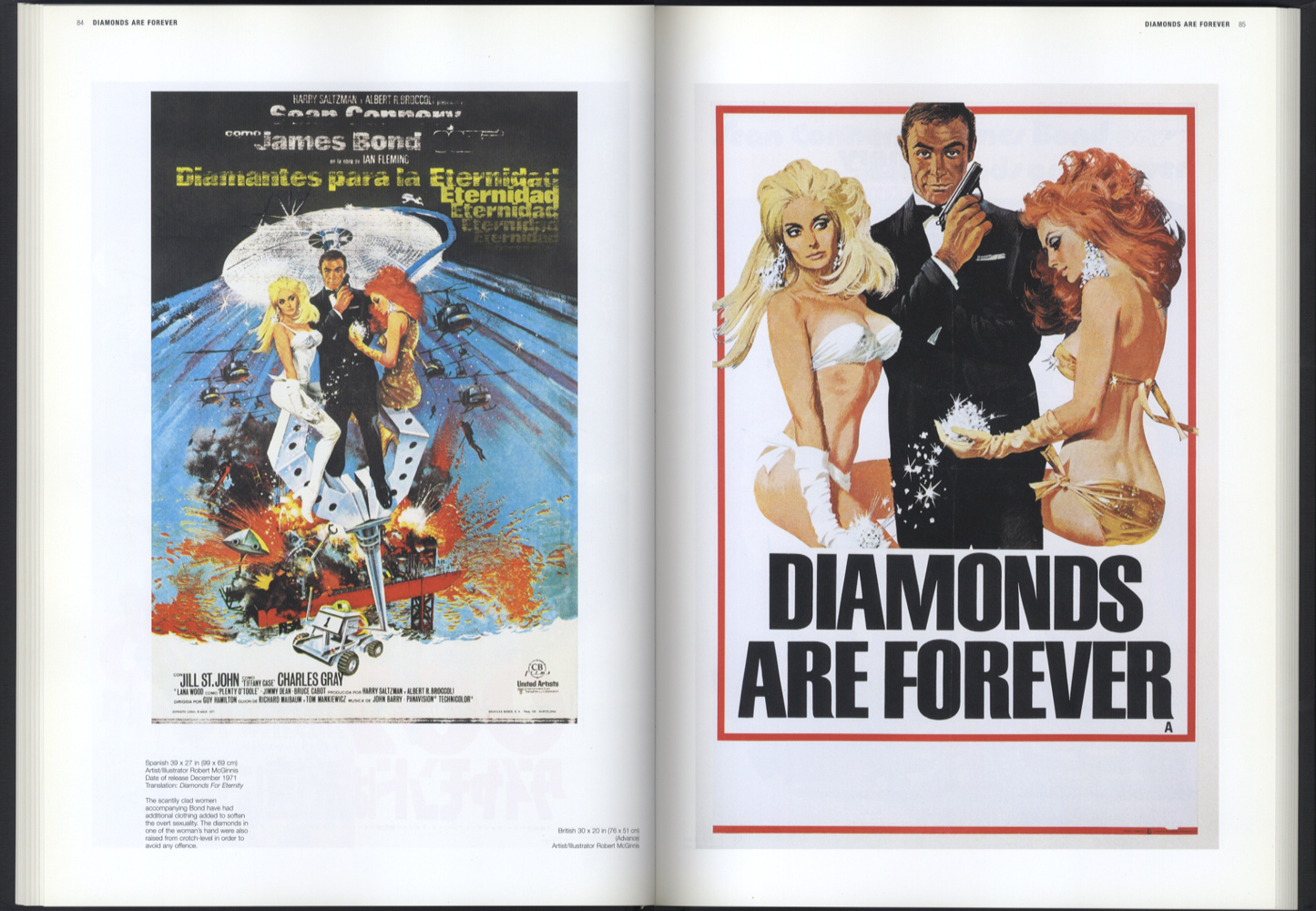 JAMES BOND MOVIE POSTERS THE OFFICIAL 007 COLLECTION[image4]