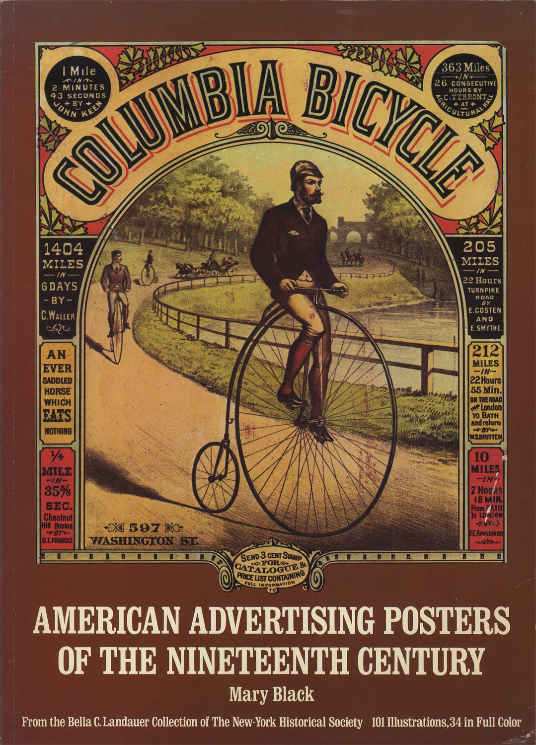 American Advertising Posters of the Nineteenth Century From the Bella C. Landauer Collection of the New-York Historical Society