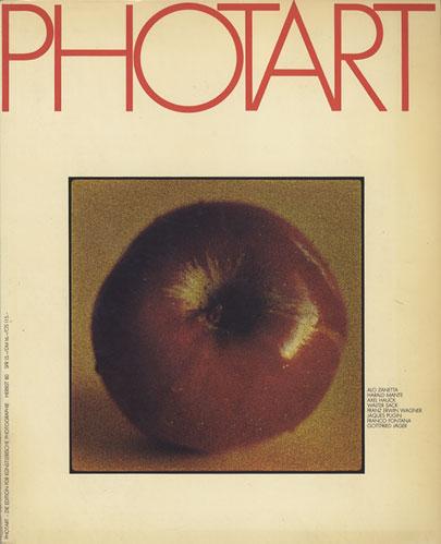 PHOTART Die Edition fur kunstlerische Photographie HERBST '80