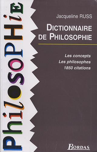 Dictionnaire de Philosophie