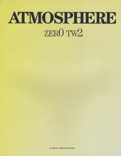 Atmosphre 02 / Spring 2003