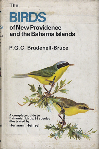 The Birds of New Providence and the Bahama Islands