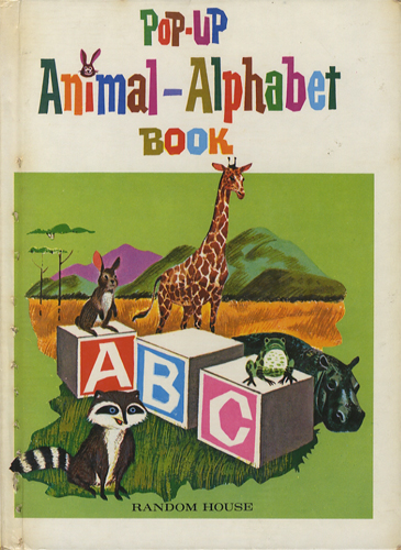 Pop-Up Animal Alphabet Book