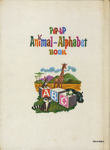 Pop-Up Animal Alphabet Book[image2]
