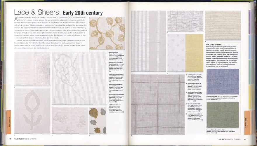The Style Sourcebook The Definitive Illustrated Directory of Fabrics Paints Wallpaper Tiles Flooring[image3]
