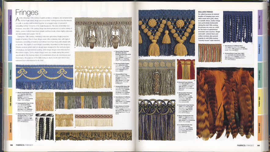 The Style Sourcebook The Definitive Illustrated Directory of Fabrics Paints Wallpaper Tiles Flooring[image4]