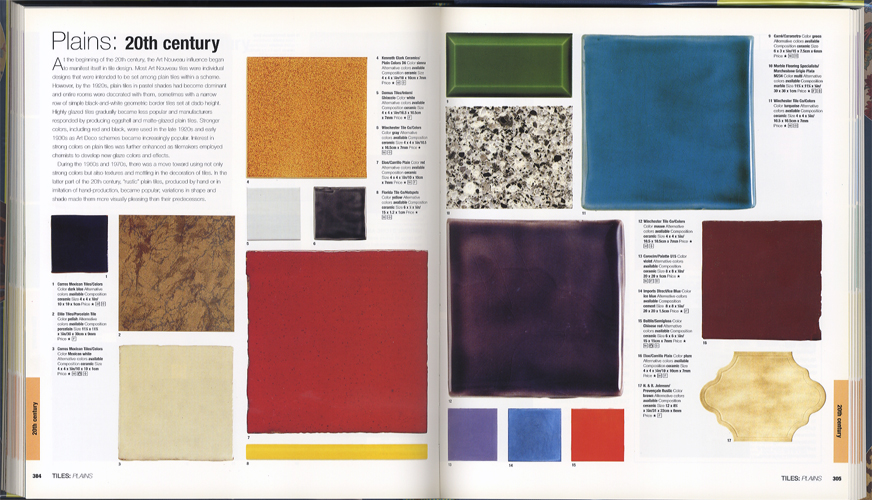 The Style Sourcebook The Definitive Illustrated Directory of Fabrics Paints Wallpaper Tiles Flooring[image5]