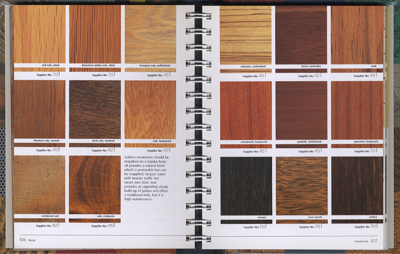 The Surface Texture Book Over 800 Colour and Texture Samples for Every Surface、 Furnishing and Finish[image4]