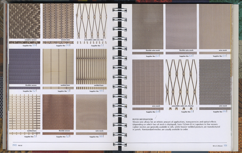 The Surface Texture Book Over 800 Colour and Texture Samples for Every Surface、 Furnishing and Finish[image5]