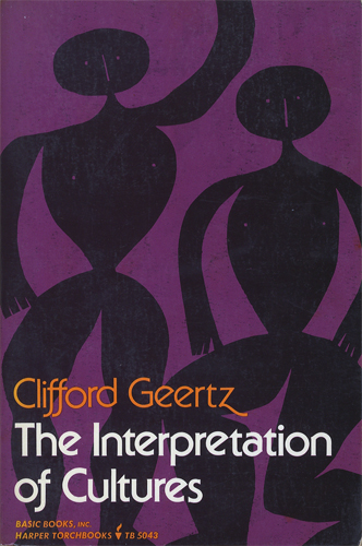 The Interpretation Of Cultures Selected Essays[image1]