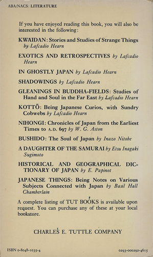 KOKORO Hints and Echoes of Japanese Inner Life[image2]