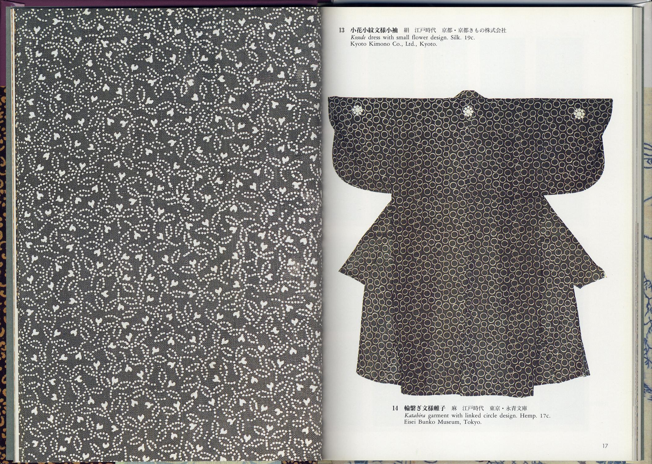 型染・小紋・中形 Katazome、 Komon、 Chūgata 日本の染織15[image2]