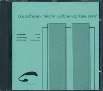 Louis Andriessen: Melodie / Symphonie voor lasse snaren