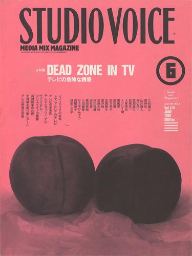 STUDIO VOICE MULTI-MEDIA MIX MAGAZINE/スタジオ・ボイス 1990年6月号 VOL.174