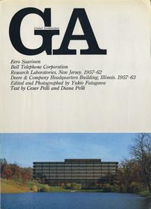 GA グローバル・アーキテクチュア No.6|イーロ・サーリネン ベル研究所 1957-62/ディア・カンパニー 1957-63
