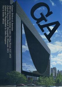 GA グローバル・アーキテクチュア No.31|グナー・バーカーツ IBM情報システム・センター 1972/ミネアポリス連邦準備銀行 1973