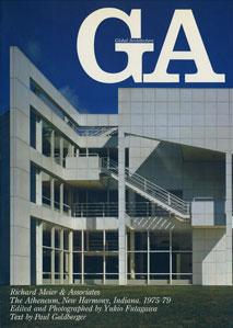 GA グローバル・アーキテクチュア No.60|リチャード・マイヤー アセニアム 1975-79