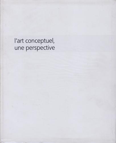l'art conceptuel une perspective