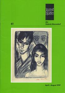 Kunstblatter der Galerie Nierendorf Nummer 61/Appril - August 1997