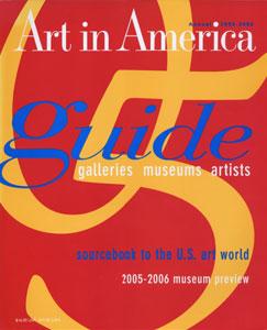 Art in America August 2005