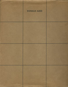Donald Judd Furniture Retrospective