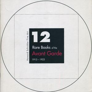 12 Rare Books of the Avant Garde 1913-1923