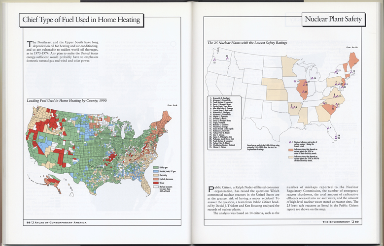 Atlas of Contemporary America A Portrait of the Nation: Politics、 Economy、 Environment、 Ethnic and Religious Diversity、 Health Issues、 Demographic Patterns、 Quality of Life、 Crime、 Personal Freedoms[image3]