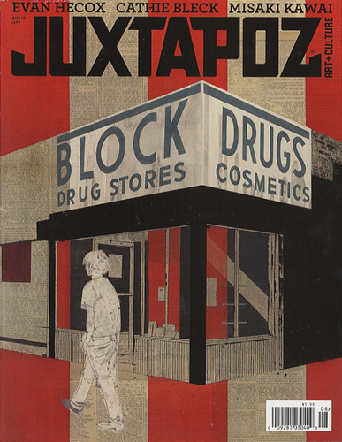 JUXTAPOZ MAGAZINE August 2012 Cover #139