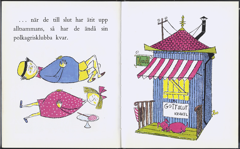 Krakel Spektakel köper en klubba[image4]