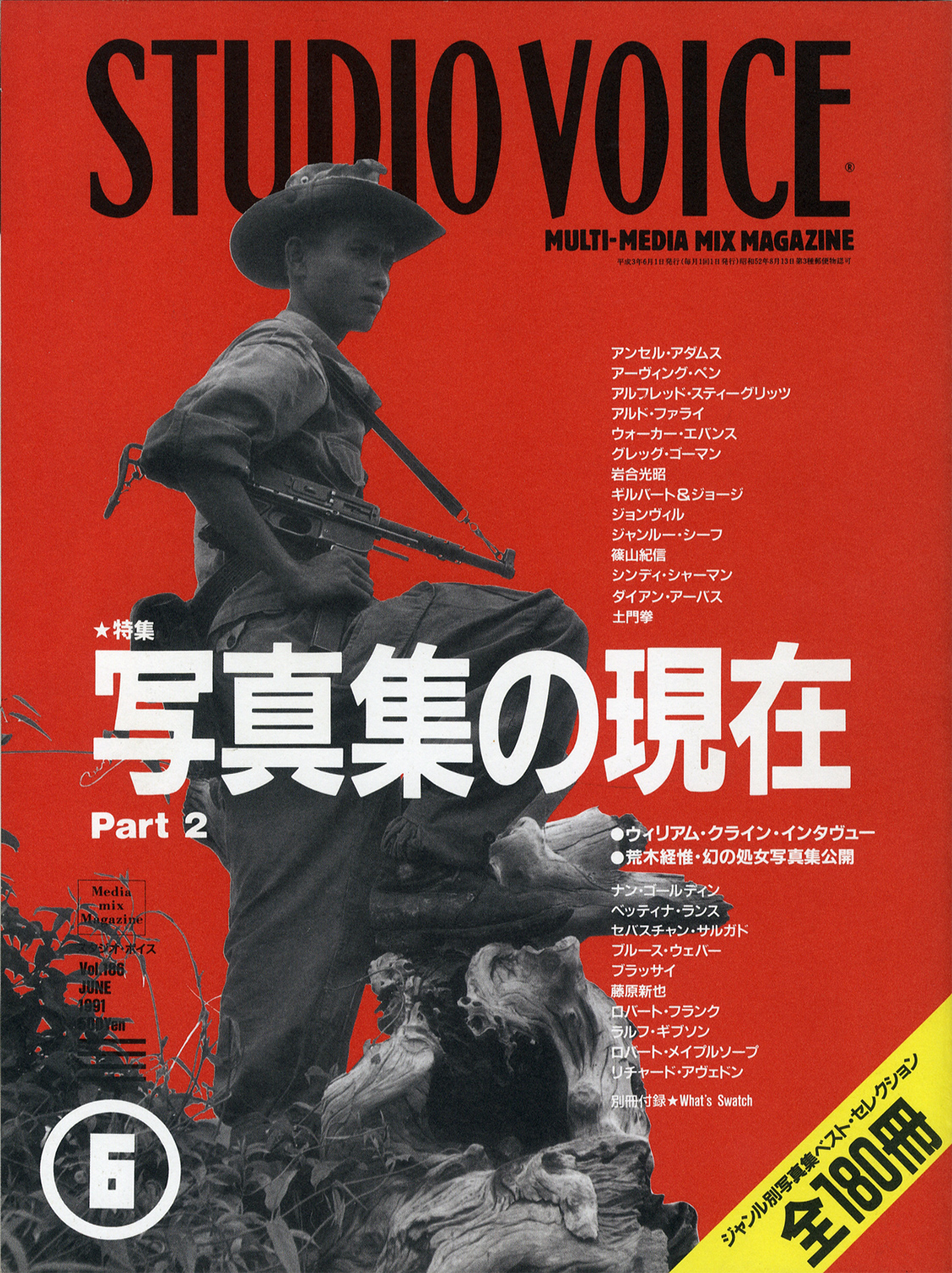 STUDIO VOICE MULTI-MEDIA MIX MAGAZINE/スタジオ・ボイス 1991年6月号 Vol.186