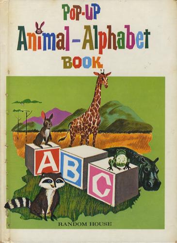 Pop-Up Animal Alphabet Book