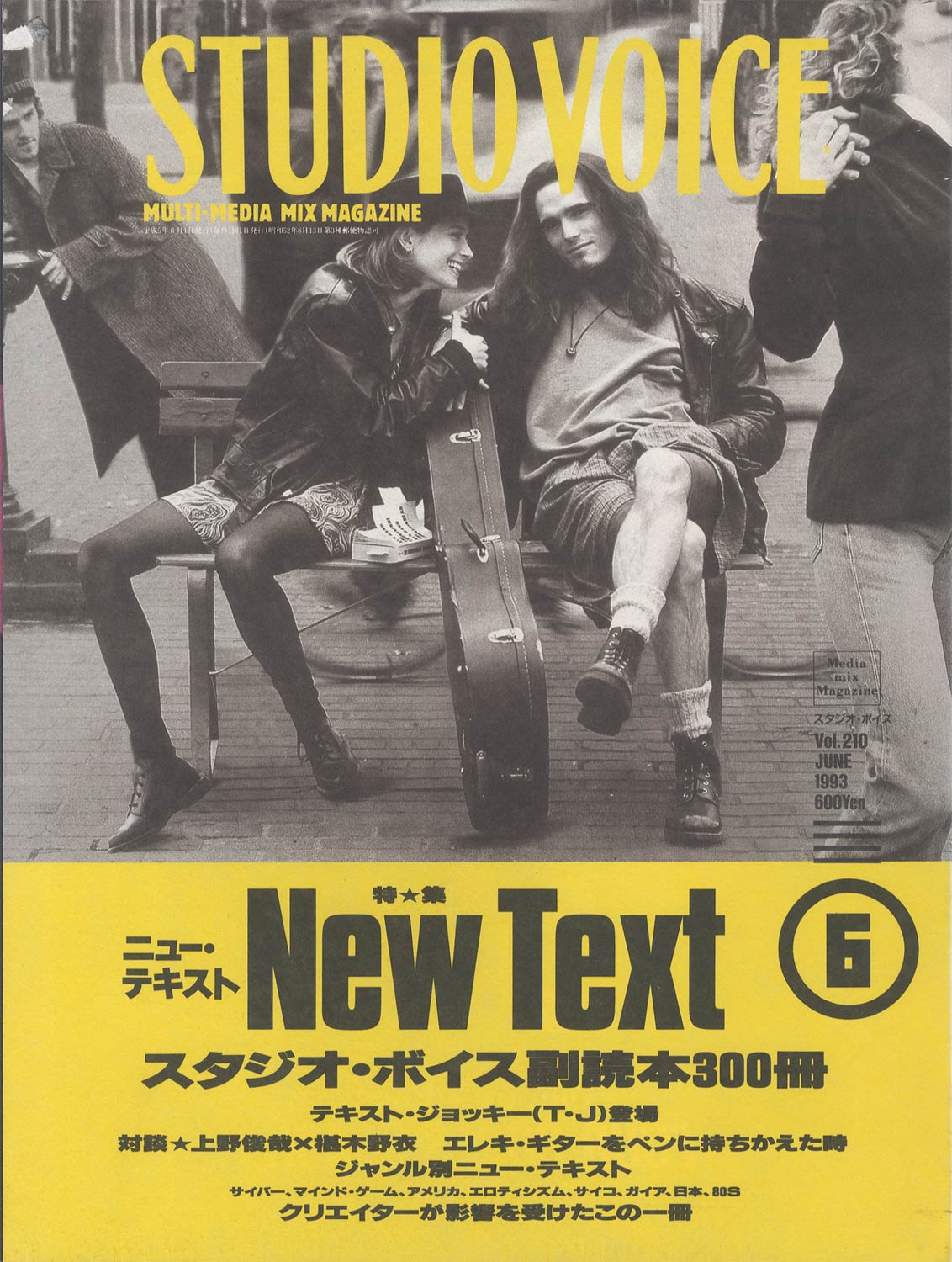 STUDIO VOICE MULTI-MEDIA MIX MAGAZINE/スタジオ・ボイス 1993年6月号 Vol.210