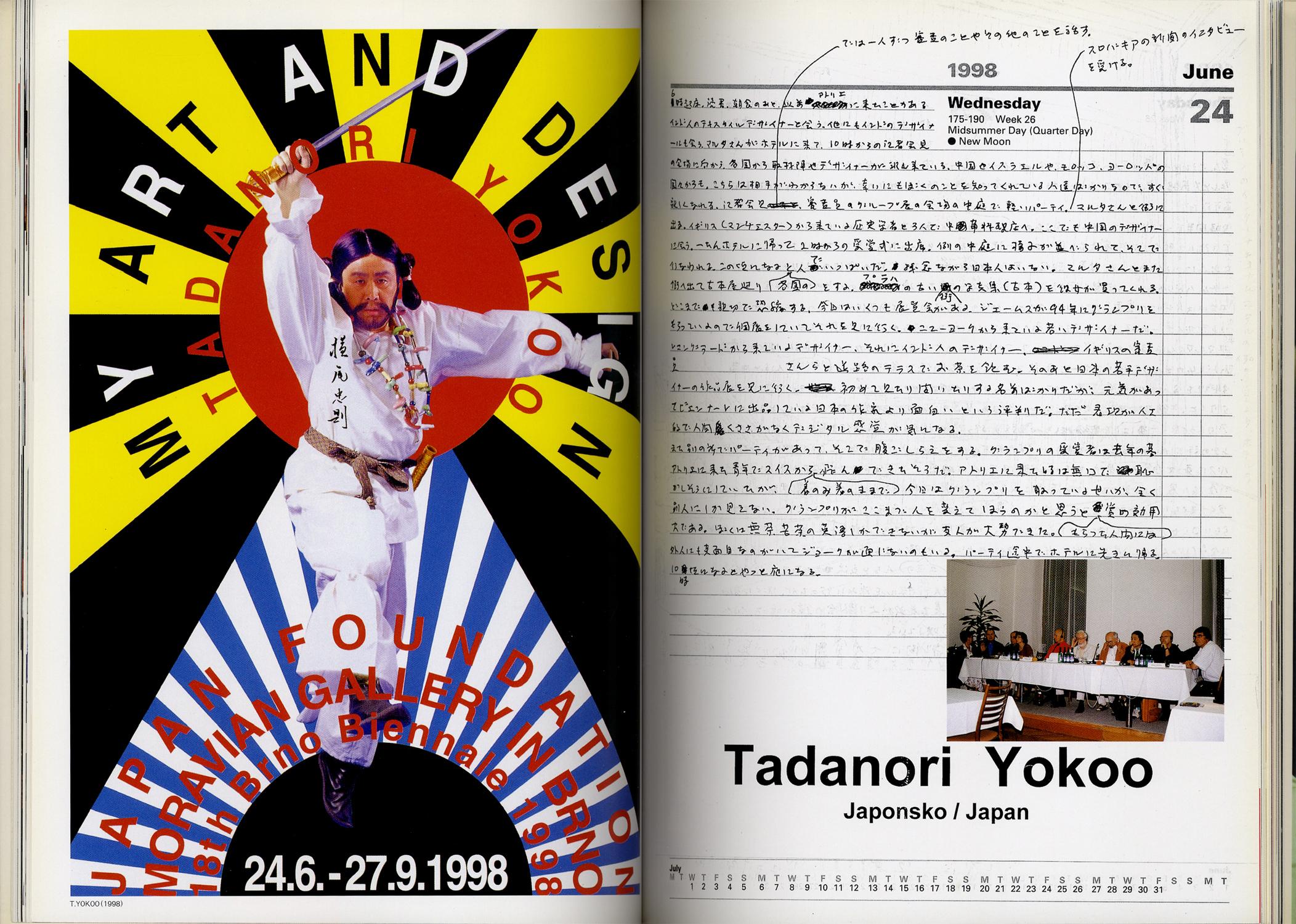 横尾忠則の仕事と周辺 ニューヨーク→チェコ駆け足旅行記 Artist、 Director and Designer SCAN #1[image3]