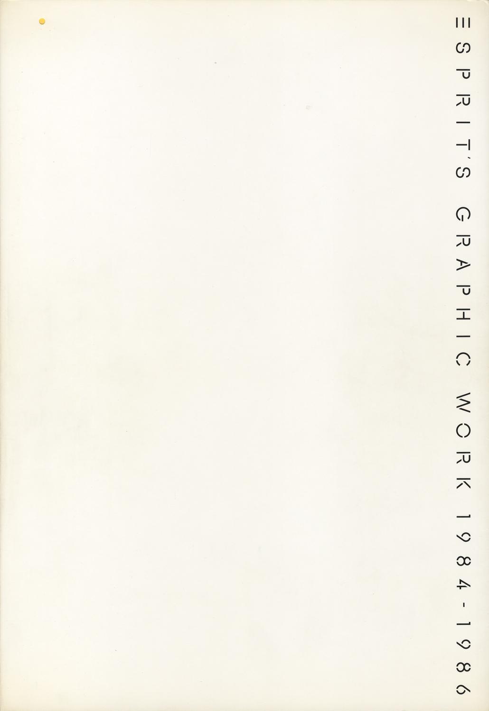 ESPRIT'S GRAPHIC WORKS 1984-1986[image2]