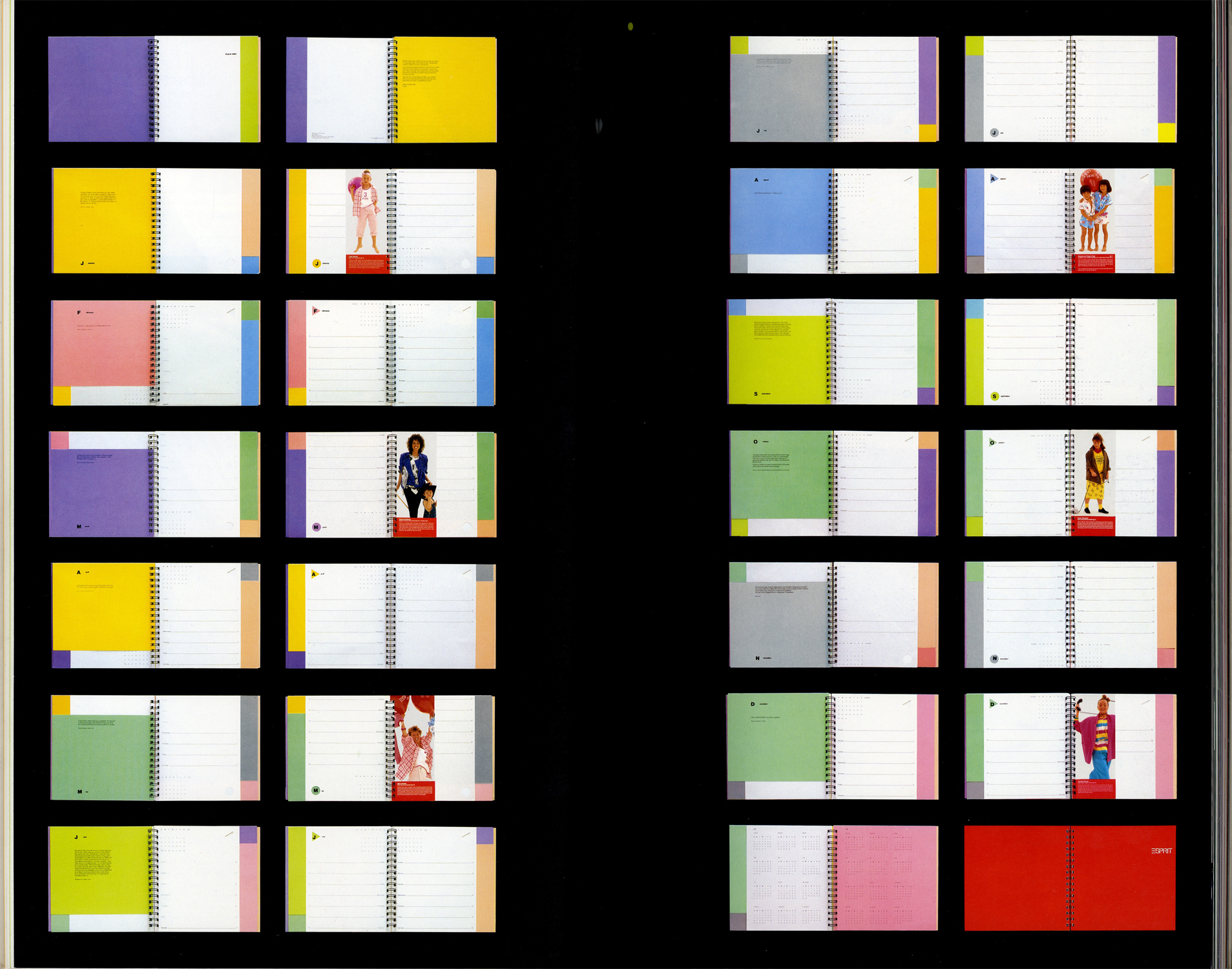ESPRIT'S GRAPHIC WORKS 1984-1986[image3]
