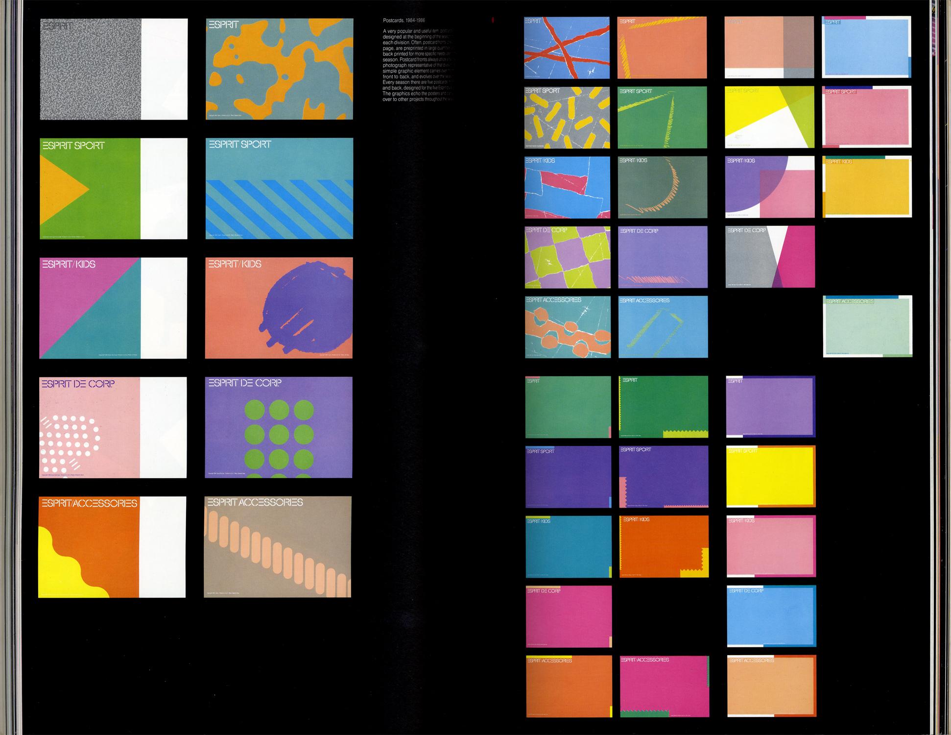 ESPRIT'S GRAPHIC WORKS 1984-1986[image5]